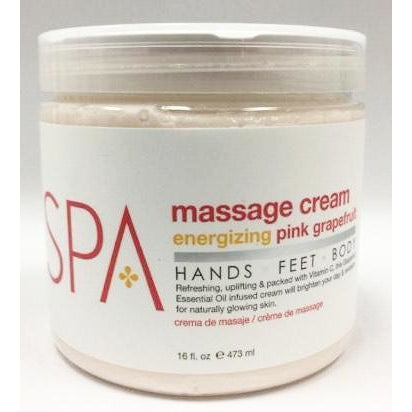 BCL Spa Massage Cream - Energizing Pink Grapefruit