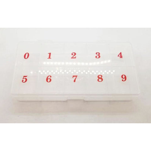 Tip Box Sizes 0-9