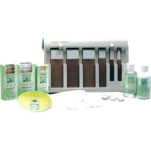 Clean+Easy Basic Waxing Spa Kit 10pc