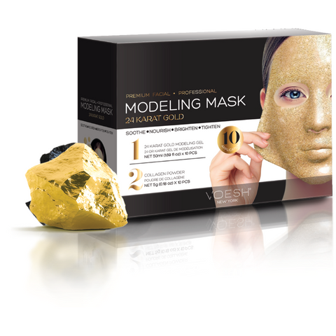 Voesh Modeling Mask - 24 Karat Gold