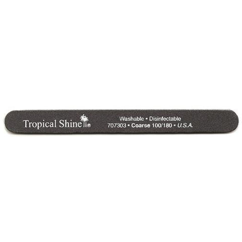 Tropical Shine Files - #707303 Black File - 100/180 Grit