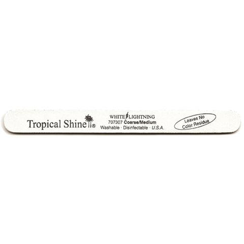Tropical Shine Files - #707307 White Lightening File - 100/180 Grit