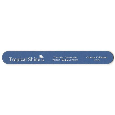 Tropical Shine Colossal Files - #707332 Blue File - 220/320 Grit