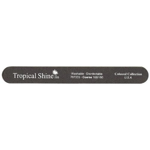 Tropical Shine Colossal Files - #707333 Black File - 100/180 Grit