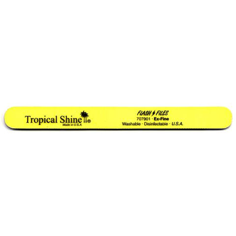Tropical Shine Files - #707901 Yellow Flash File - 320/320 Grit