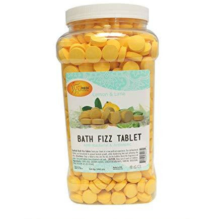 SpaRedi Bath Fizz Tablets - Lemon & Lime 950pc