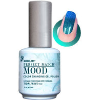 Lechat Mood Gel Polish - DWML09 Tidal Wave