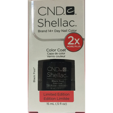 CND Shellac Half Ounce - 105 Black Pool