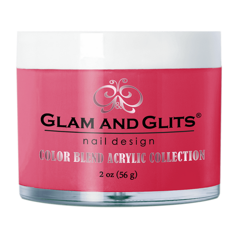 Glam And Glits - Color Blend Acrylic Powder - BL3064 Flamingle 2oz