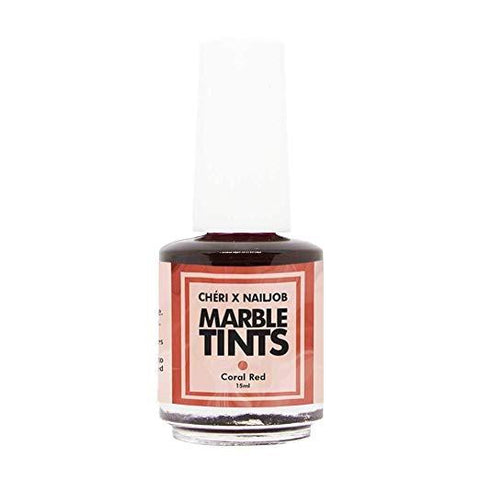 Cheri Marble Tints - Coral Red
