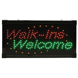 Fanta Sea - 'Walk-Ins' LED Sign