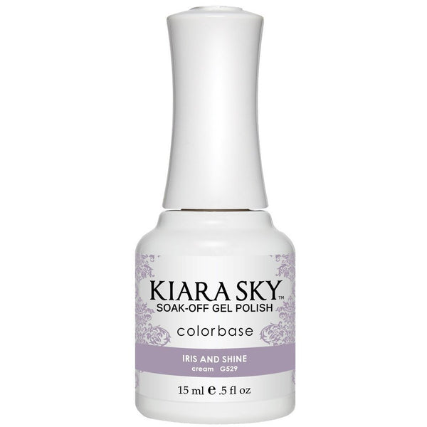 Kiara Sky Matching Polish - 529 Iris and Shine (Gel)