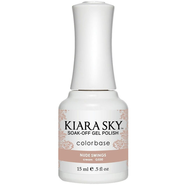 Kiara Sky Matching Polish - 530 Nude Swings (Gel)