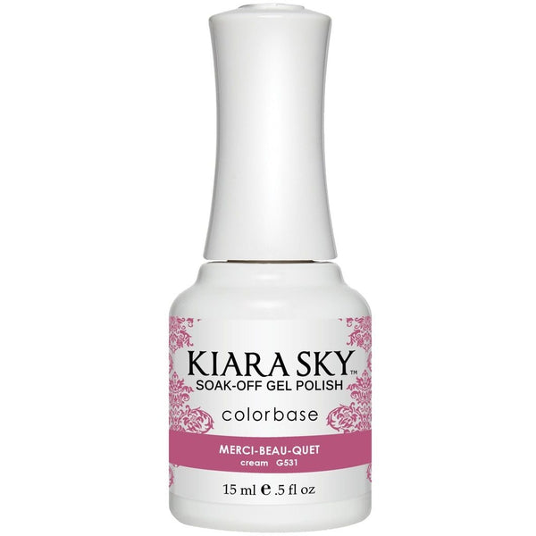 Kiara Sky Matching Polish - 531 Merci-Beau-Quiet (Gel)