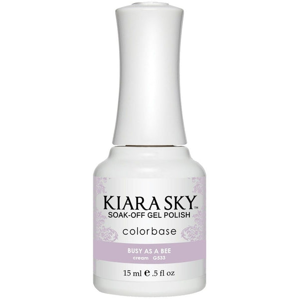 Kiara Sky Matching Polish - 533 Busy As A Bee (Gel)