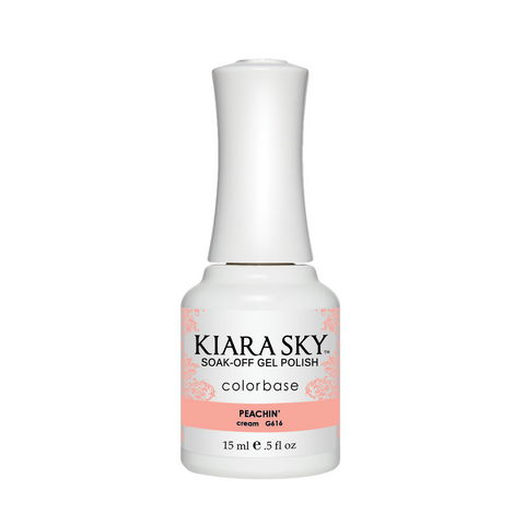 Kiara Sky Matching Polish - 616 Peachin' (Gel)