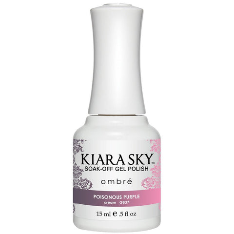 Kiara Sky Ombre' (MOOD) - 837 Poisonous Purple (Gel)