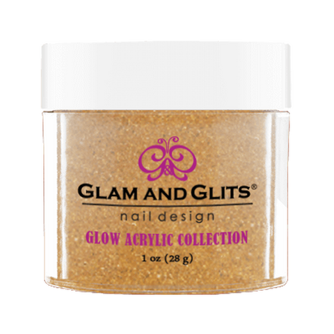 Glam And Glits - Glow Acrylic Powder - GL2022 Ignite 1oz