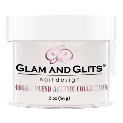 Glam And Glits - Color Blend Acrylic Powder - BL3002 White Wine