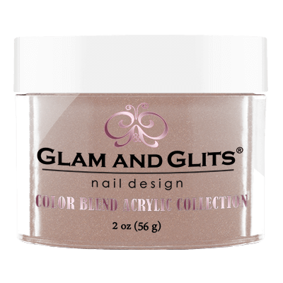 Glam And Glits - Color Blend Acrylic Powder - BL3009 Brown Sugar