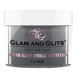 Glam And Glits - Color Blend Acrylic Powder - BL3032 Out Of The Blue 2oz