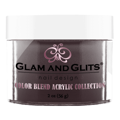 Glam And Glits - Color Blend Acrylic Powder - BL3040 Purple Pumps 2oz