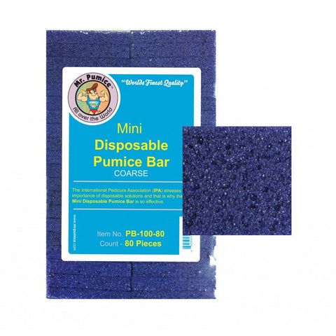 Mr. Pumice Mini Disposable Pumice Bar (Coarse)