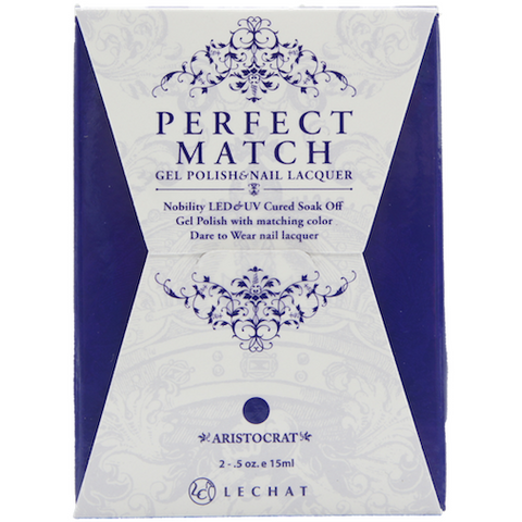Lechat Perfect Match PMS 077 ARISTOCRAT Lacquer and Gel Kit