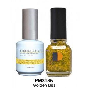 Lechat Perfect Match PMS 135 GOLDEN BLISS Lacquer and Gel Kit