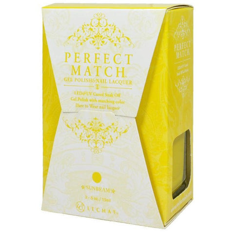 Lechat Perfect Match PMS 176 SUNBEAM Lacquer and Gel Kit