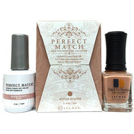 Lechat Perfect Match PMS 177 NUDE BEACH Lacquer and Gel Kit