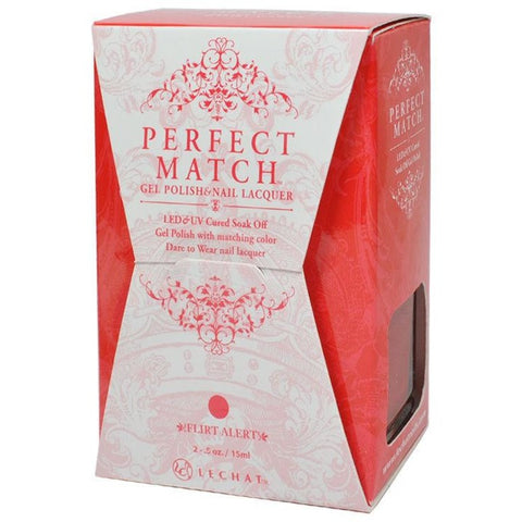 Lechat Perfect Match PMS 187 FLIRT ALERT Lacquer and Gel Kit