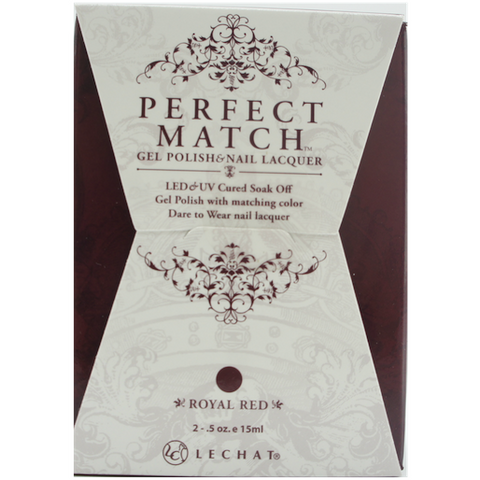 Lechat Perfect Match PMS 006 ROYAL RED Lacquer and Gel Kit
