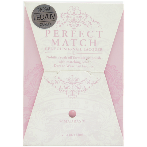Lechat Perfect Match PMS 034 MADRAS Lacquer and Gel Kit