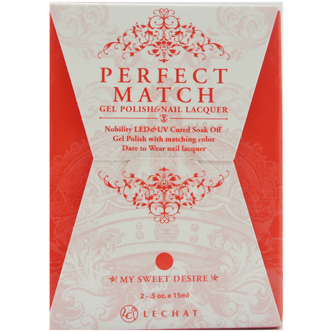 Lechat Perfect Match PMS 068 MY SWEET DESIRE Lacquer and Gel Kit