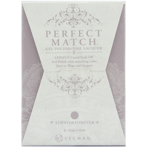 Lechat Perfect Match PMS 072 ALWAYS & FOREVER Lacquer and Gel Kit