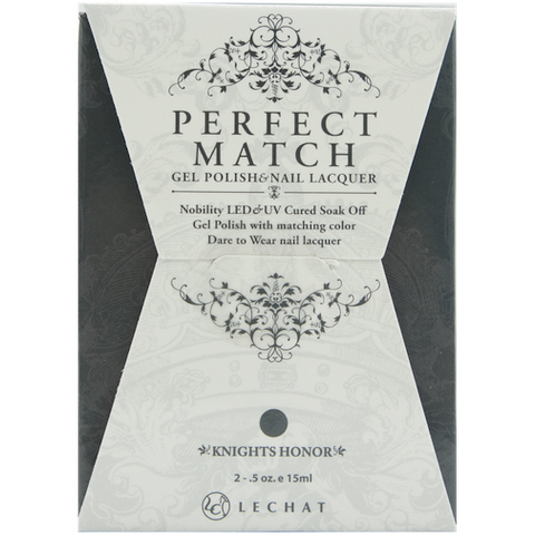 Lechat Perfect Match PMS 076 KNIGHTS HONOR Lacquer and Gel Kit