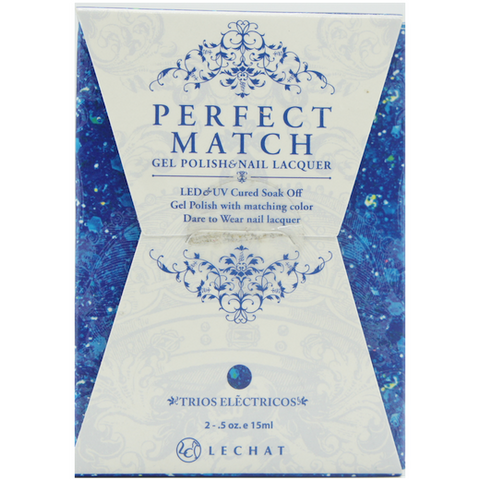 Lechat Perfect Match PMS 090 TRIOS ELECTRICOS Lacquer and Gel Kit