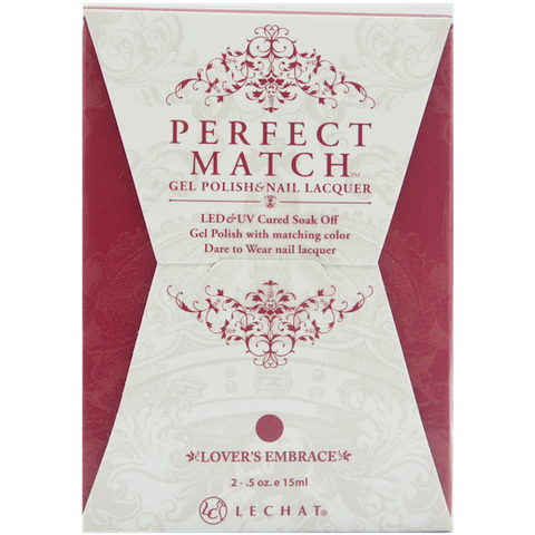 Lechat Perfect Match PMS 092 LOVER'S EMBRACE Lacquer and Gel Kit