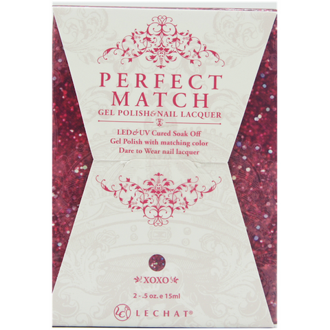 Lechat Perfect Match PMS 093 XOXO Lacquer and Gel Kit