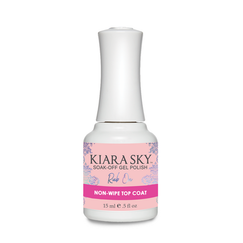 Kiara Sky - Rub On Non Cleansing Top Coat .5oz
