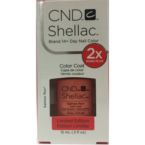 CND Shellac Half Ounce - 181 Salmon Run