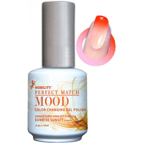 Lechat Mood Gel Polish - DWML03 Sunrise Sunset