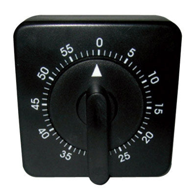 Soft 'n Style - Black Square Timer