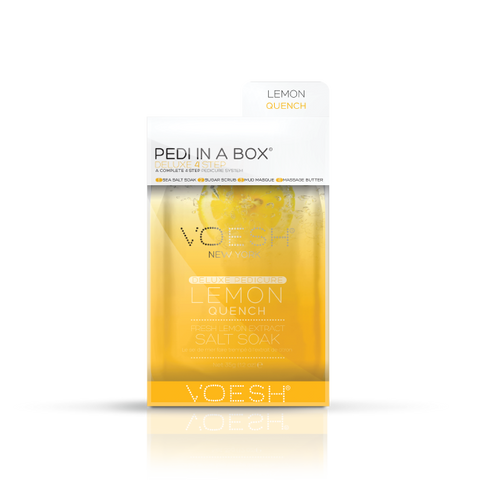 Voesh Pedi in a Box 4-in-1 - LEMON QUENCH