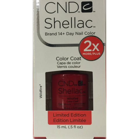 CND Shellac Half Ounce - 158 Wildfire