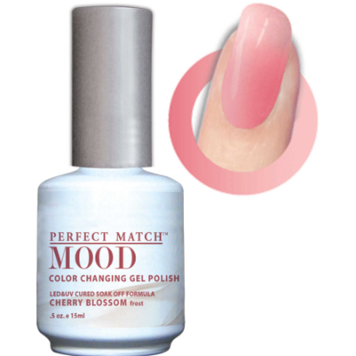 Lechat Mood Gel Polish - DWML17 Cherry Blossom