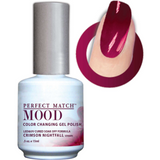 Lechat Mood Gel Polish - DWML18 Crimson Nightfall