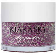 Kiara Sky Dip Powder - D430 PURPLE SPARK