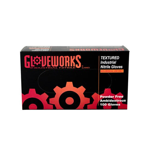 Gloveworks Nitrile Gloves - Medium